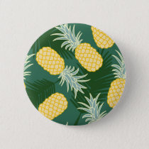 Tropical pineapple button
