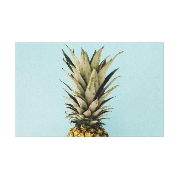 Tropical. Pineapple. Canvas Print