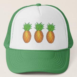 Tropical Pineapple Fruit Pineapples Trucker Hat