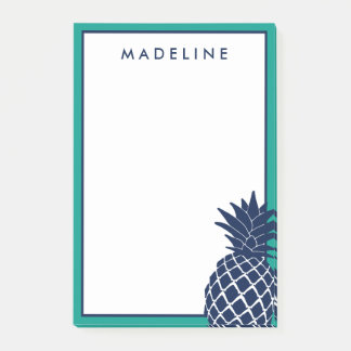 Tropical Pineapple Post-it Notes