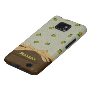 Tropical Pineapples and Bow Customizable Cover Samsung Galaxy S2 Case