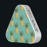 """Tropical Pineapples On Teal Bluetooth Speaker<br><div class=""""desc"""">Tropical Fruit 