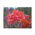 Tropical Pink Bougainvillea Doormat