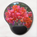 Tropical Pink Bougainvillea Gel Mouse Pad