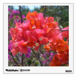Tropical Pink Bougainvillea Wall Sticker
