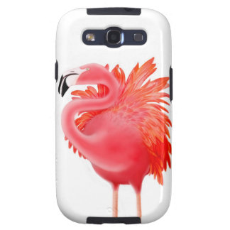 Tropical Pink Flamingo Samsung Galaxy Case Samsung Galaxy SIII Covers