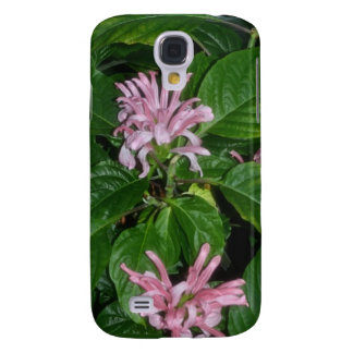 Tropical Pink Flowers Samsung S4 Case