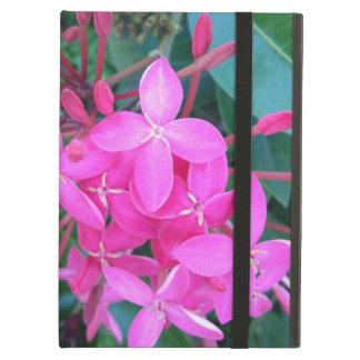 Tropical Pink Ixora Flower iPad Air Cover
