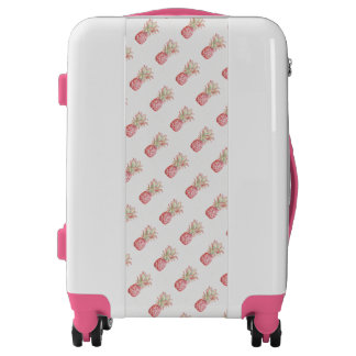 Tropical | Pink Pineapple Luggage
