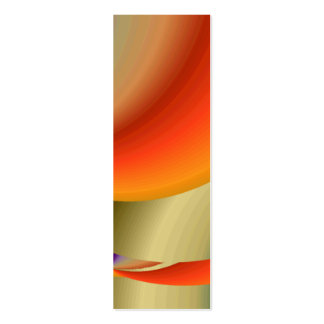 Tropical Planet Bookmark Mini Business Card