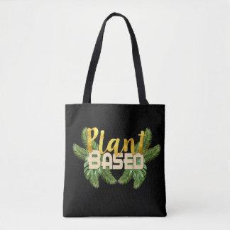 Tropical Plant Based Tote Bag