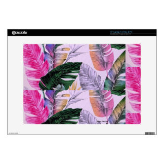 Tropical Plant Pattern Computer Laptop Skin