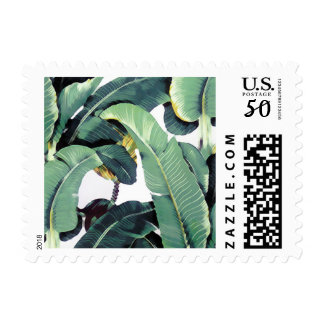 Tropical Plantation Palm Leaves Postage
