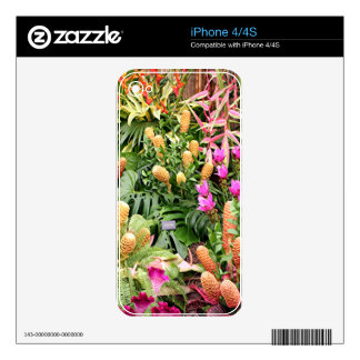 Tropical plants 2 decal for the iPhone 4S