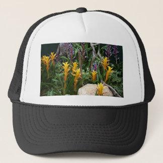 Tropical plants 4 trucker hat