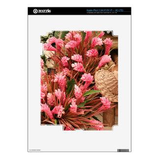 Tropical plants 5 iPad 3 decal