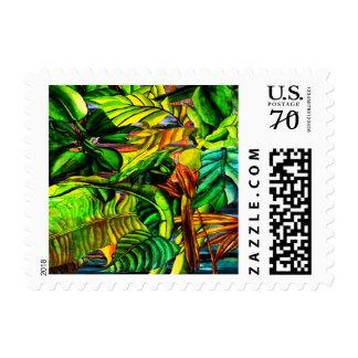 Tropical Plants Postage