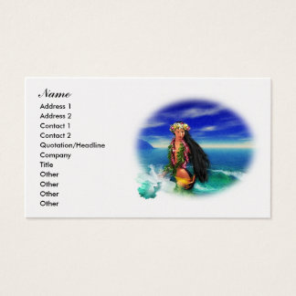 Tropical Pleasures Business Cards 2