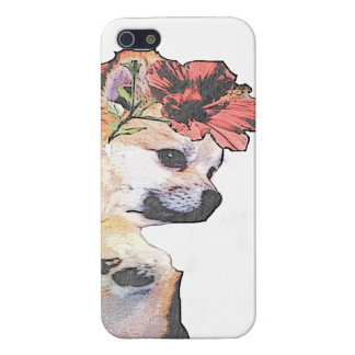 Tropical Pom - iPhone Case (White)