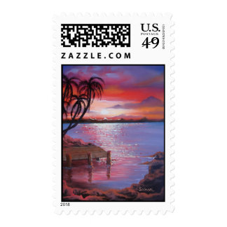 Tropical - Postage Stamp