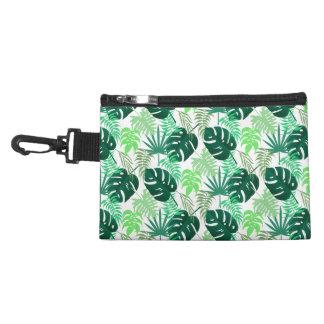 Tropical Print Clip On Accessory Bag