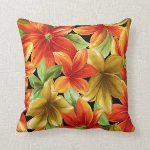 Red Orange Pillows Decorative Amp Throw Pillows Zazzle
