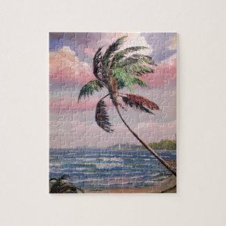 Tropical Private Beach Jigsaw Puzzles