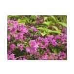 Tropical Purple Bougainvillea Doormat