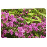 Tropical Purple Bougainvillea Floor Mat