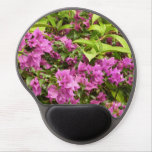 Tropical Purple Bougainvillea Gel Mouse Pad