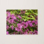 Tropical Purple Bougainvillea Jigsaw Puzzle