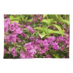 Tropical Purple Bougainvillea Kitchen Towel