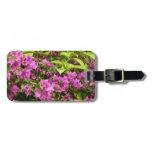 Tropical Purple Bougainvillea Luggage Tag