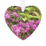 Tropical Purple Bougainvillea Ornament