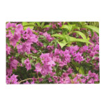 Tropical Purple Bougainvillea Placemat