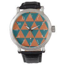 Tropical Pyramids Wrist Watch