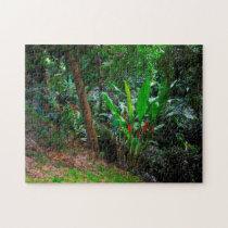 Tropical Rain Forest Grenada Caribbean. Jigsaw Puzzle
