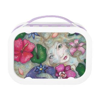 """""""Tropical Rain"""" mermaid fantasy lunchbox Yubo Lunch Box"""