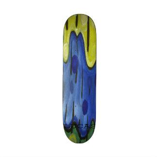Tropical Rain Custom Skate Board