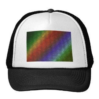 Tropical Rainbow Bubble Wrap Effect Trucker Hat