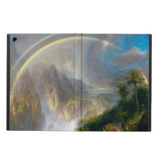 Tropical Rainbow Painting iPad Case