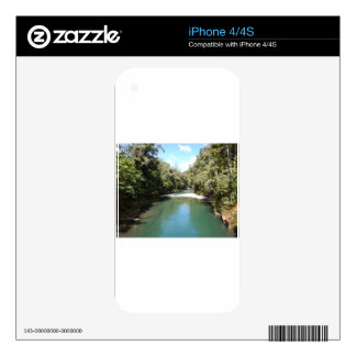 Tropical Rainforest and River in New Guinea Decals For The iPhone 4S