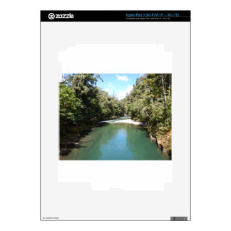 Tropical Rainforest and River in New Guinea Skin For iPad 3