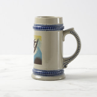 Tropical Records Beer Stein