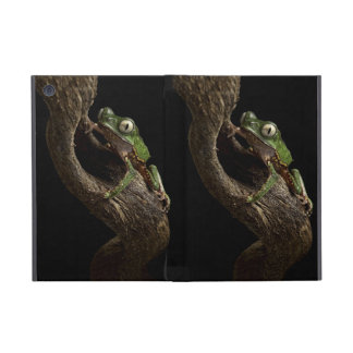 Tropical red eyed tree frog iPad mini covers