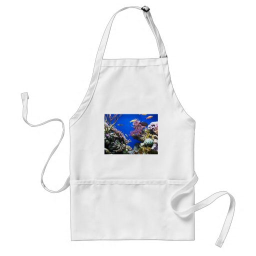 Tropical Reef Adult Apron