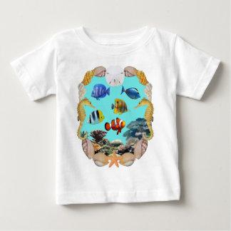 Tropical Reef Fish Baby T-Shirt