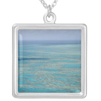 Tropical reef, Great Barrier Reef, Queensland, Square Pendant Necklace