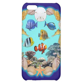 Tropical Reef iPhone 5C Case