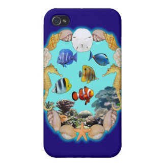 Tropical Reef Case For iPhone 4